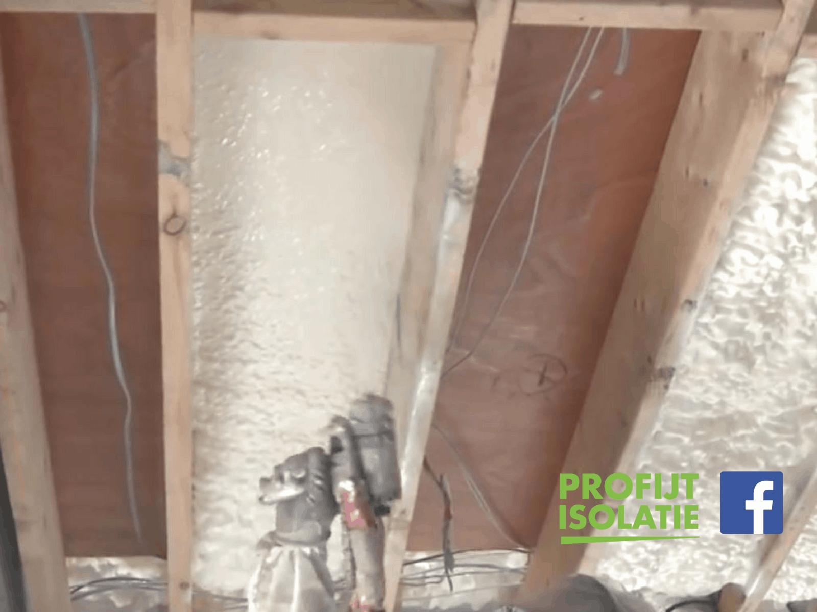 Vloerisolatie icynene bij een houten vloer video profijt
