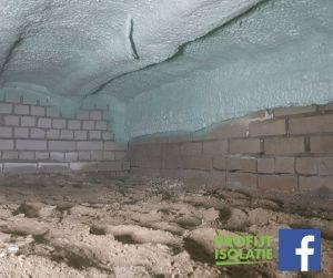 Deze week Ecofoam isolatie bij Vloerverwarming