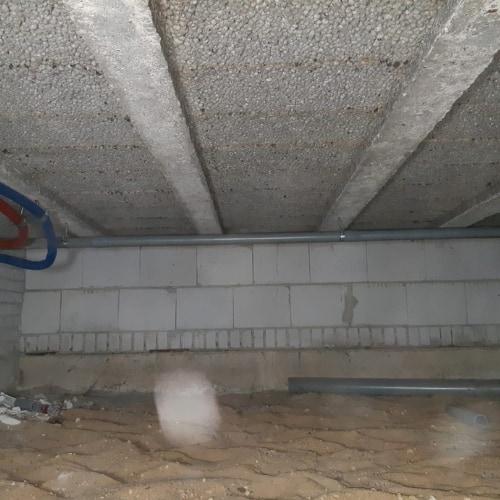 Vloerisolatie met Ecofoam in Soest